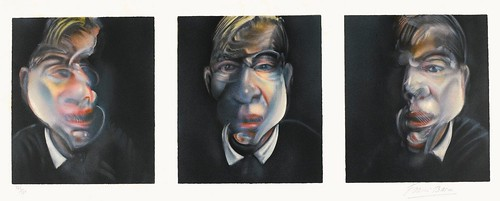 [ B ] Francis Bacon - Three Studies for Self-Portait  (1981)