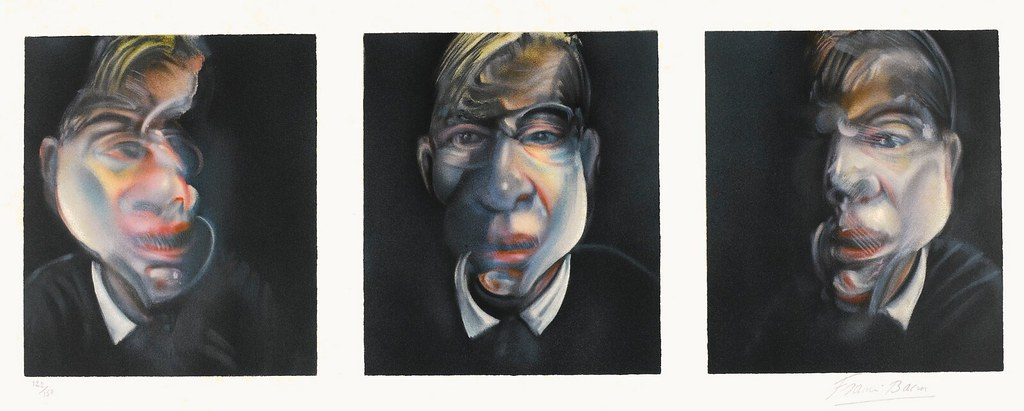 [ B ] Francis Bacon - Three Studies for Self-Portait  (1981)