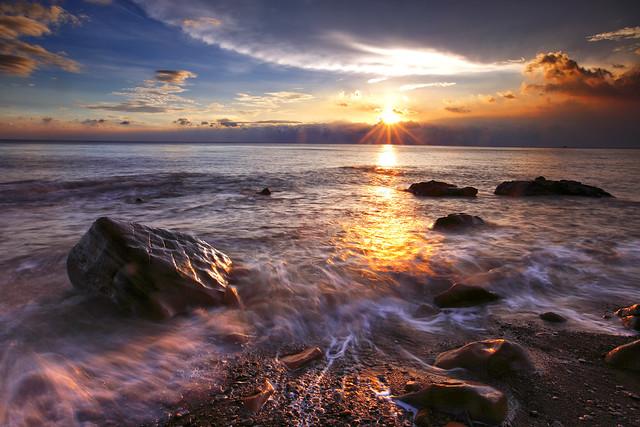 枋山夕照 sunset@Fangshan