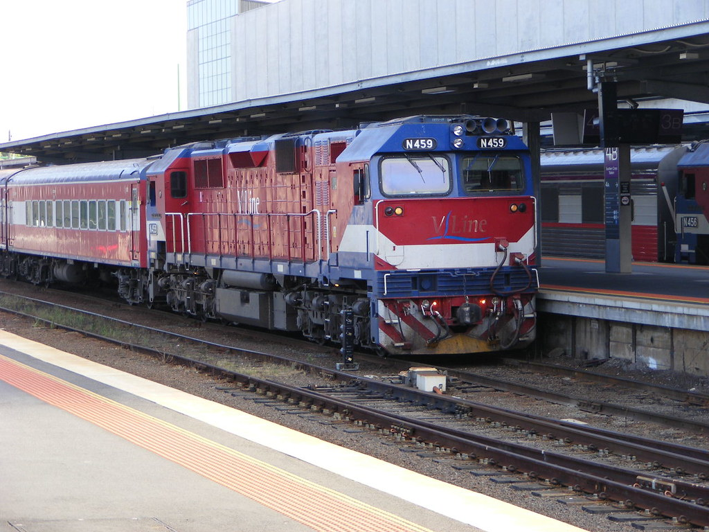 V Line N459 Southern Cross 03.03.10 by Andy Cole