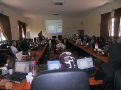 photoshop training for members and volunteers of AMAL (Morocco)