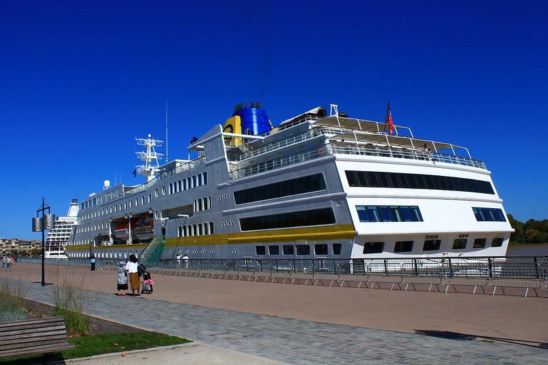 MV Hamburg - Port de Bordeaux - 19 septembre 2012
