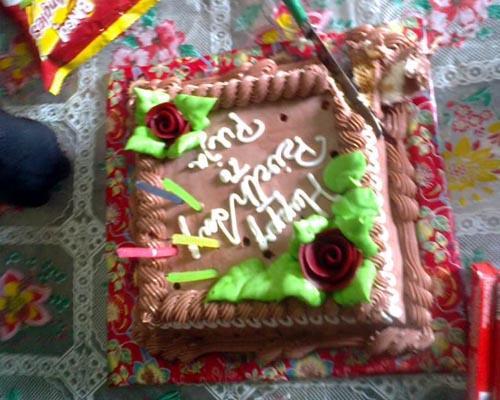 Puja Kumari Birthday Cake 03 0 10 2012 5
