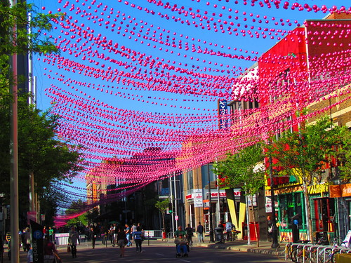 Rue Ste-Catherine, Montréal