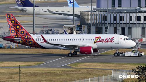 Batik A320-214 msn 7289 | by dn280tls