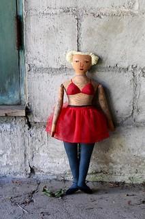 tattooed lady in a tutu | by Mimi K