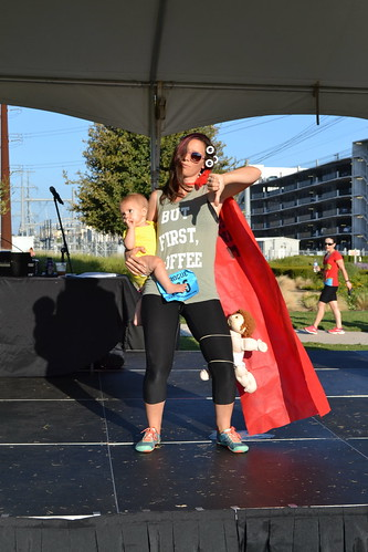 Costume Contest Winner - Invented Superhero: Super Okay Mom - Greer Tedford | by CASA of Travis County
