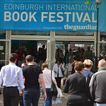 Book Festival entrance | A busy Book Festival entrance