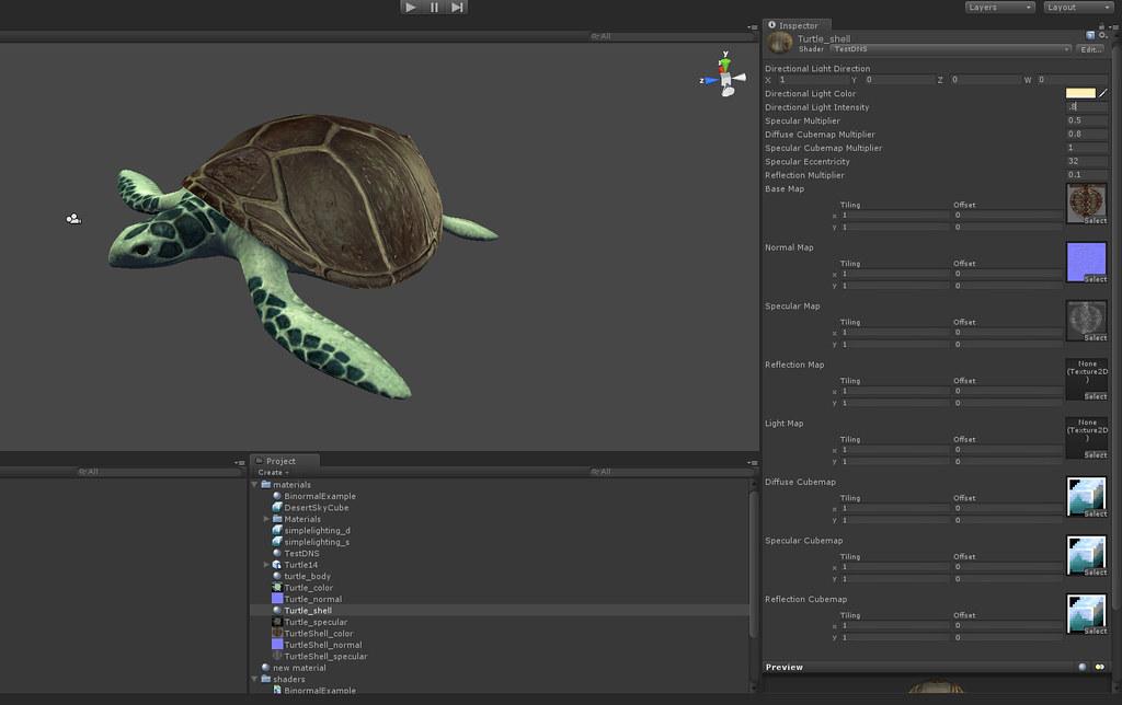 Unity Shader Screenshot | Screenshot of a CG ubershader impl