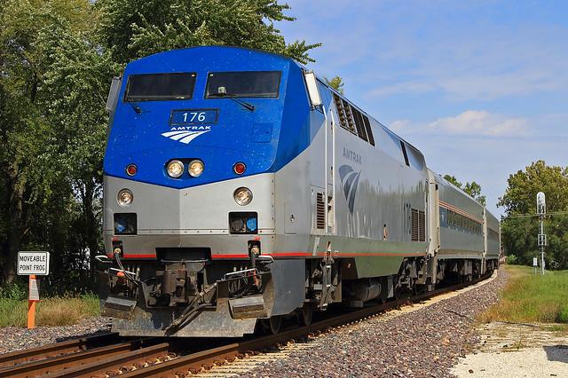 Amtrak #303 at South Ridgely