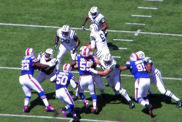 Jets run blocking