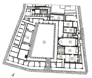 Pompeii - Stabian Baths plan | by The Classical World