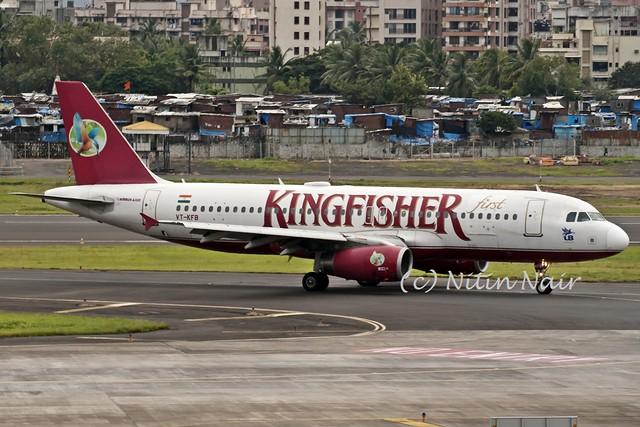 Kingfisher A320 VT-KFB