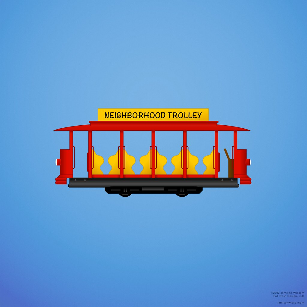 Trolley Ipad Wallpaper My Illustration Of Trolley From M Flickr