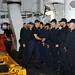 FCDR visits the Spanish Ship ESPS Reina Sofia - EUNAVFOR MED