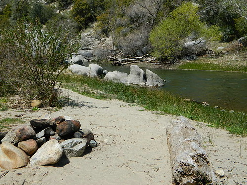 Beach Camping at Lower Kern River