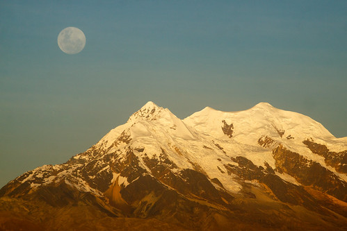 city moon altitude bolivia moonrise suburb lapaz highest elalto illimani lapazdept lpfull