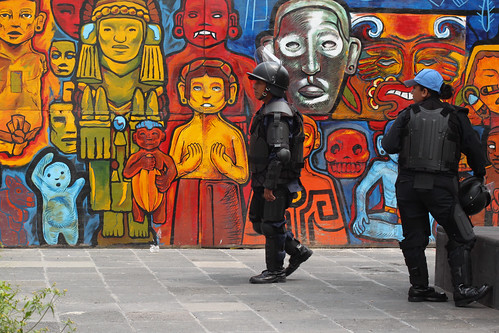 Colourful Cops, Mexico City | by Geraint Rowland Photography