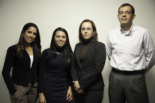 Equipe youDb (da esquerda para a direta) Rafaela, Katia, Viviane e Paulo | by youdb_br