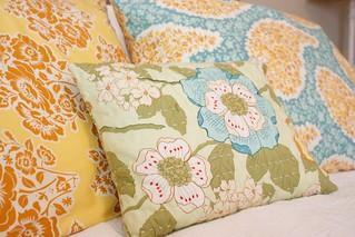 Secret Garden pillows