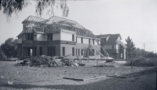 Sumner Hall after its 1922 relocation