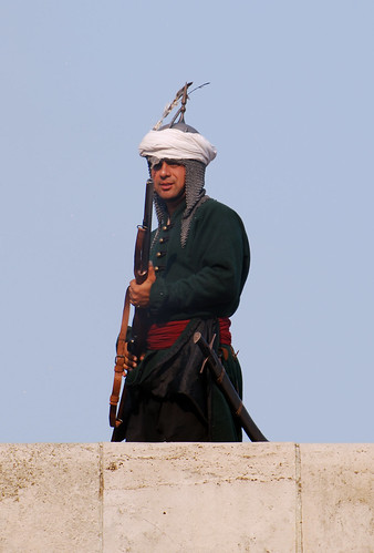 Török muskétás - Turkish musketeer