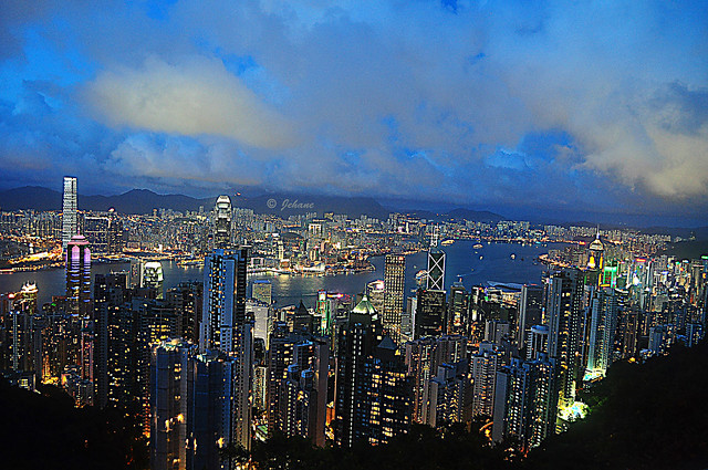 Hong Kong from Victoria Peak.   -  EXPLORE
