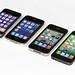 Four Generations of iPhone: Original + 3G + 4 + 5