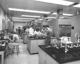 Chemistry Lab in Seaver North in 1967