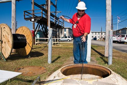SRNL Fiber Optic Cable Installation