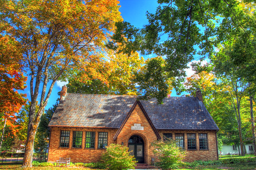 michigan petoskey bayview chautauqua library libraries fall autumn architecture bayview11241 hdr11241 petoskey11241 fall11241 autumn11241 mi photography miphotography crookedtreeartscenter petoskeycameraclub petoskeyphotographyclub crookedtreephotographicsociety robertcarterphotographycom ©robertcarter
