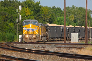 Eastbound UP gravel train at Rosenberg Junction | by roy.luck