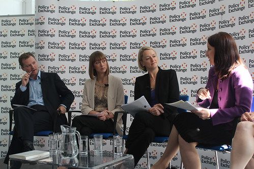 The panel at Public Sector Remuneration: An end to national pay bargaining? | by Policy Exchange