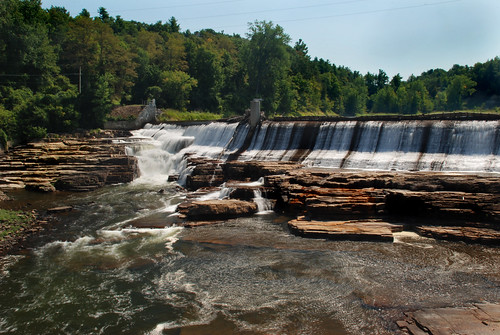 waterfall essexcounty waterfalls chesterfield ausable ausableriver keeseville damfalls alicefalls vermontdreams