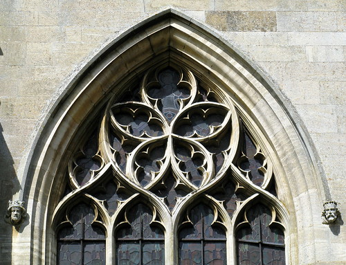 Decorated Gothic window tracery (14th C.), the Church of St Helen, Brant Broughton, Lincolnshire, England | by Spencer Means