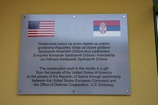 U.S. honors Serbian friendship, builds school gymnasium