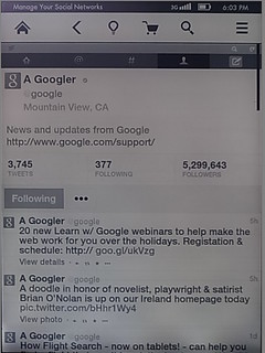 See @google's profile | by jesse