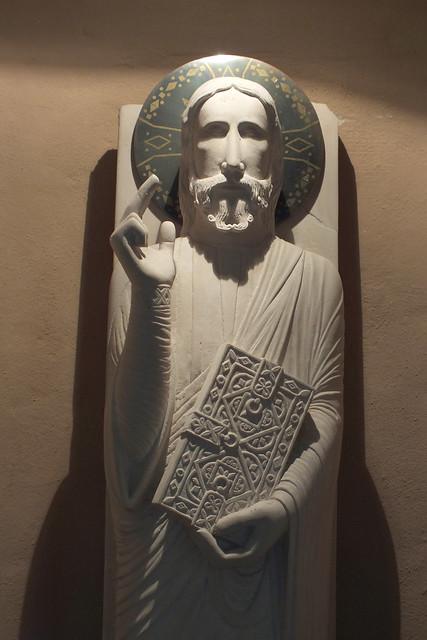 christ in s.servolo's church(slovenia)#43547