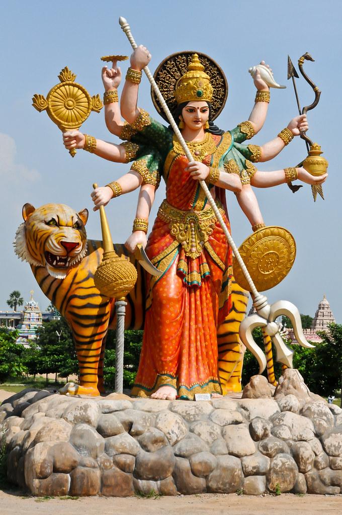 Goddess Durga Devi Subash Bgk Flickr