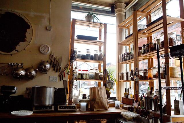 The corner pantry