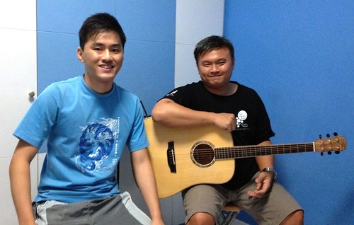 Private guitar lessons Singapore Andrew