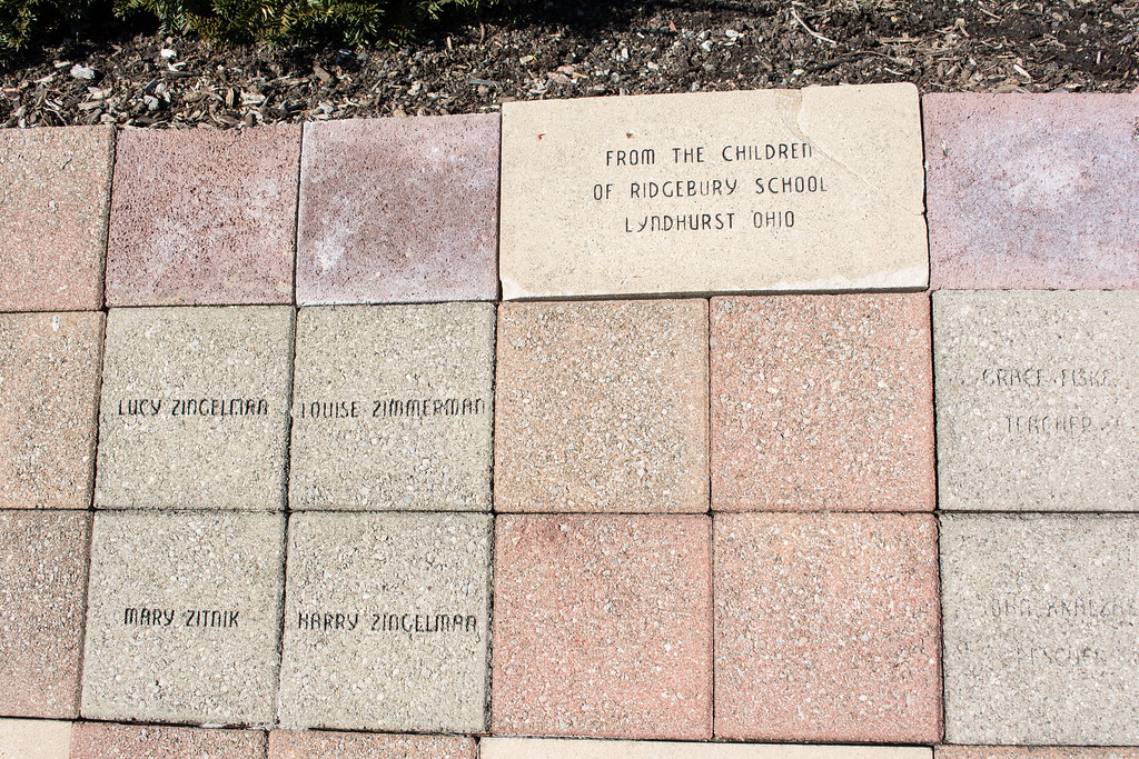 tiles 01 - Collinwood Fire Memorial   Tile listing the names…   Flickr