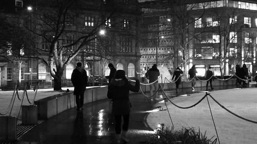 Saint Andrew Square, winter night 04 | by byronv2