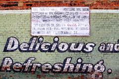 Restored Coca-Cola Mural - Selma, AL