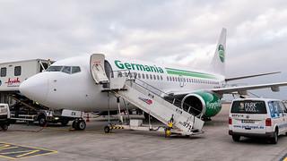 D-AGEN | Boeing 737-75B | Germania | Düsseldorf | March 2018 | by Flightline Photography UK