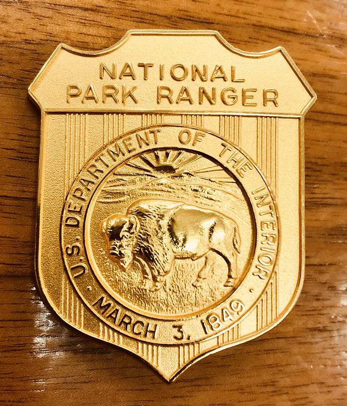 United States Park Ranger Badge