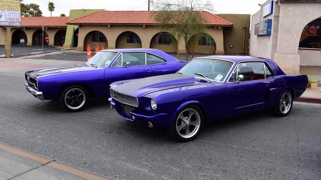 70' Roadrunner & 64 1/2' Mustang   James Slark   Flickr