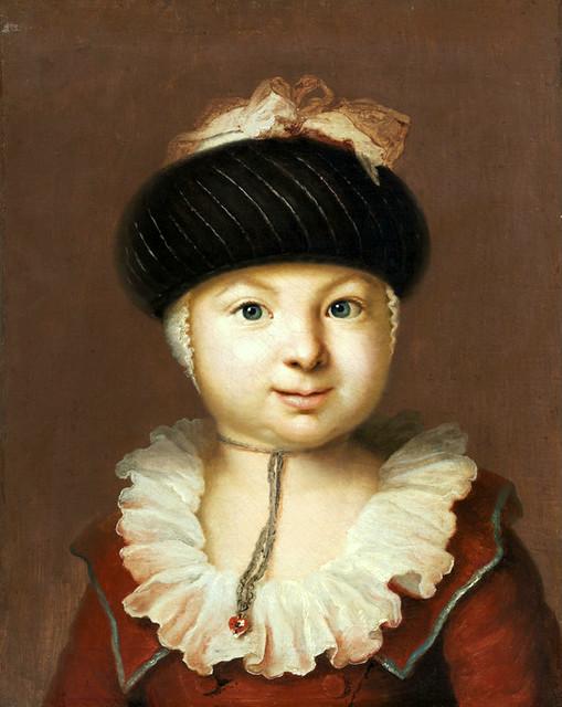 Johann Heinrich Wilhelm Tischbein, Brustbild eines Kindes - Portrait of a Child