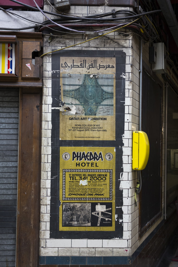 Old Posters, Baker Street
