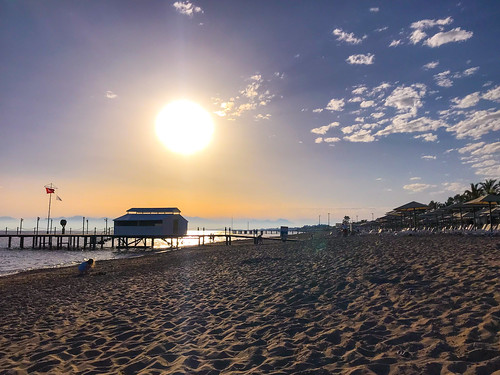 iphone7 turkey belek beach sunset